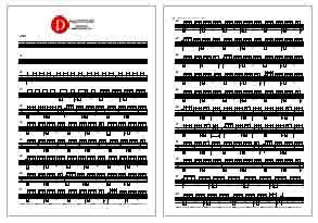 Coldplay Hypnotised Drum Sheet Music